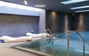 hen party group hotel accommodation in Edinburgh with spa facilities