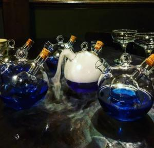Harry Potter potions in Harry Potter themed escape room in edinburgh